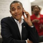 Barack is iPhone Challenged